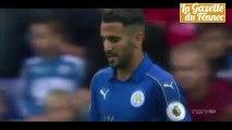 Riyad Mahrez Skills Vs Arsenal
