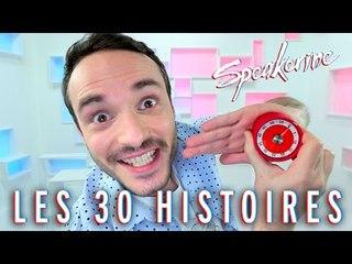 Les 30 Histoires - Speakerine