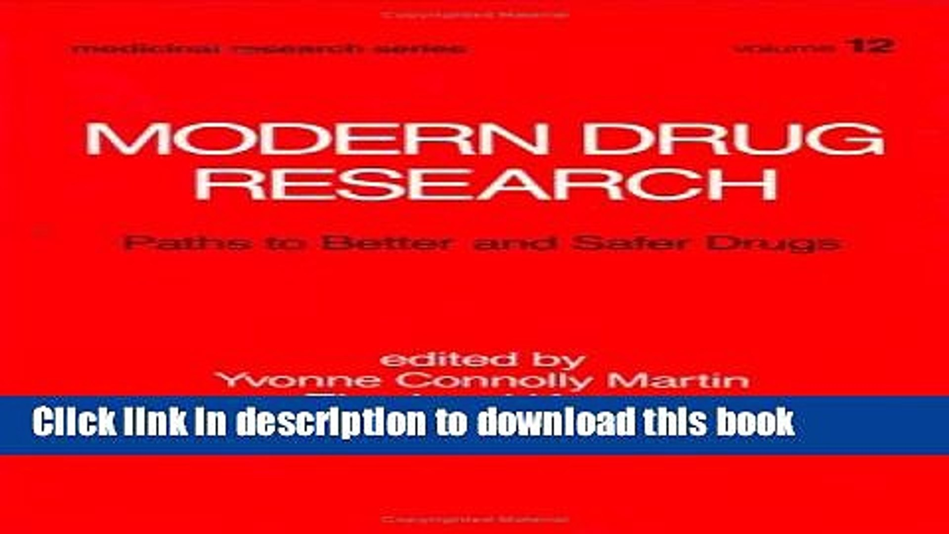 [PDF] Modern Drug Research: Path to Better and Safer Drugs Popular Online