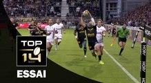 TOP 14 ‐ Essai Gabriel LACROIX (SR) – La Rochelle‐Clermont – J1 – Saison 2016/2017