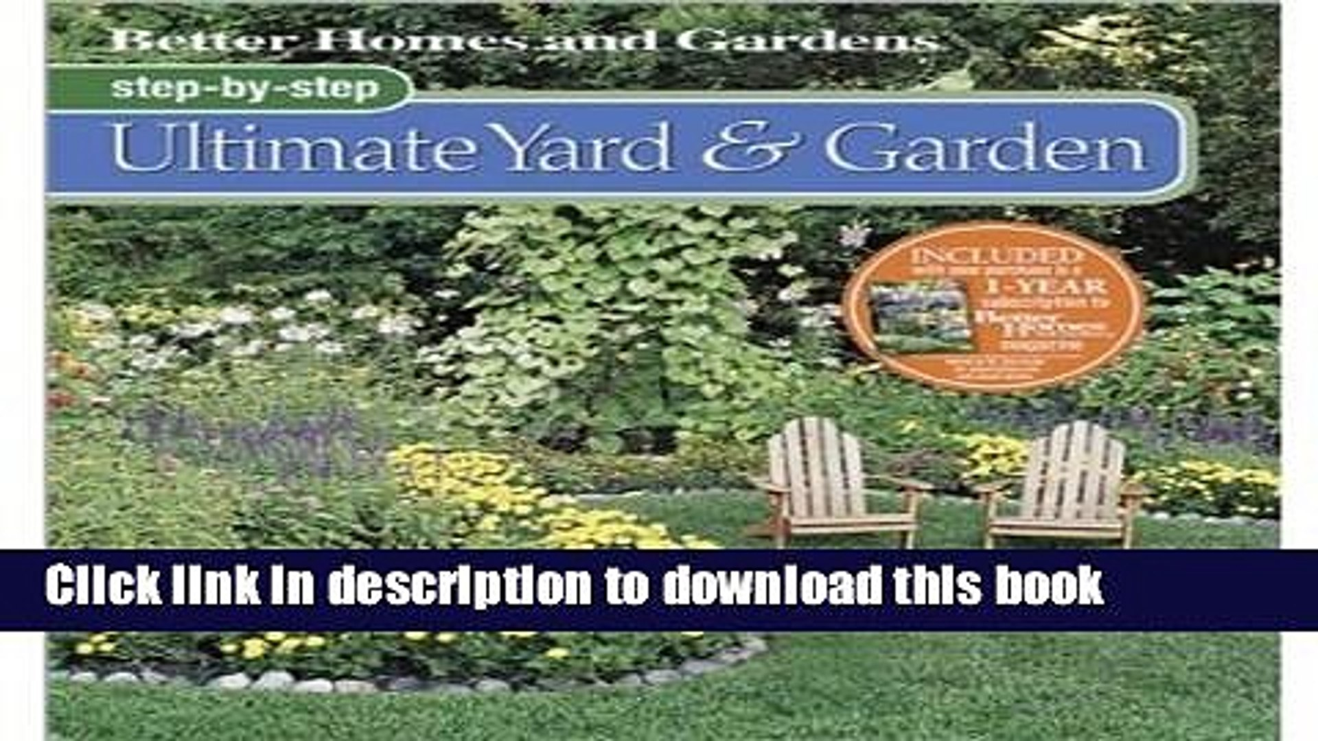[PDF] Better Homes and Gardens Step-by-Step Ultimate Yard and Garden (Better Homes   Gardens