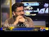 Sheikh Rasheed badly shuts up Saleem Safi when he was continuously criticizing Imran Khan.