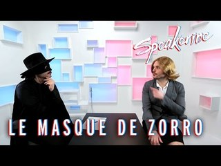 Le Masque de Zorro - Speakerine