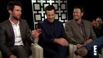 Adam Levine, Blake Shelton and Carson Daly on The Voice | E! Entertainment