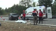 Trafik Kazaları: 1 Ölü, 3 Yaralı
