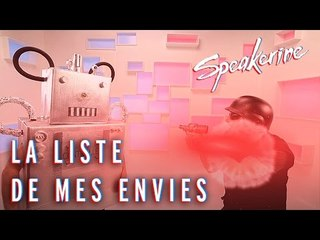 La liste de mes envies - Speakerine