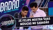 Zé Felipe canta os sucessos da sua carreia e conversa com Portiolli