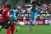 Guingamp 2-1 OM : le but de Florian Thauvin (78e)
