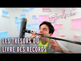 Les Trésors du Livre des Records - Speakerine