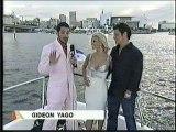 Nick Lachey & Jessica Simpson on the Mtv Awards 04