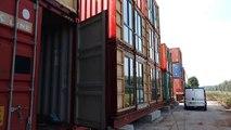 Des appartements en containers maritimes à Pont-à-Celles