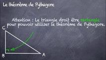 3ème Pythagore Le theorème de Pythagore