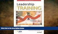 READ book  Leadership Training (ASTD Trainer s WorkShop Series)  FREE BOOOK ONLINE