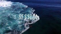 Very Cool Drone Footage Surfing in Fiji