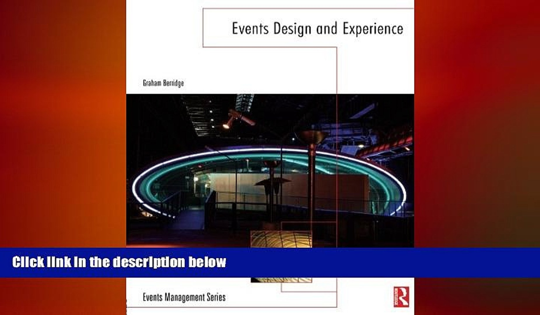 EBOOK ONLINE  Events Design and Experience (Events Management)  BOOK ONLINE