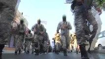 İzzeddin El-Kassam Tugaylarının Askeri Geçit Töreni