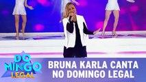 Bruna Karla se apresenta no Domingo Legal