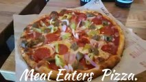 Blaze Pizza | Meat Eaters Pizza | Bar-Q Chicken.