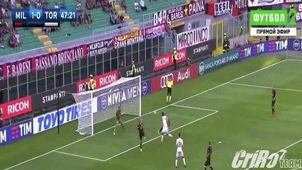 AC Milan vs Torino (3-2) Full Highlights 21/08/2016 ~ Serie A [HD]