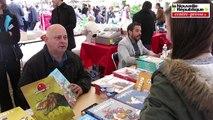 VIDEO. Montmorillon : stars ou pas, les écrivains contents du salon du livre
