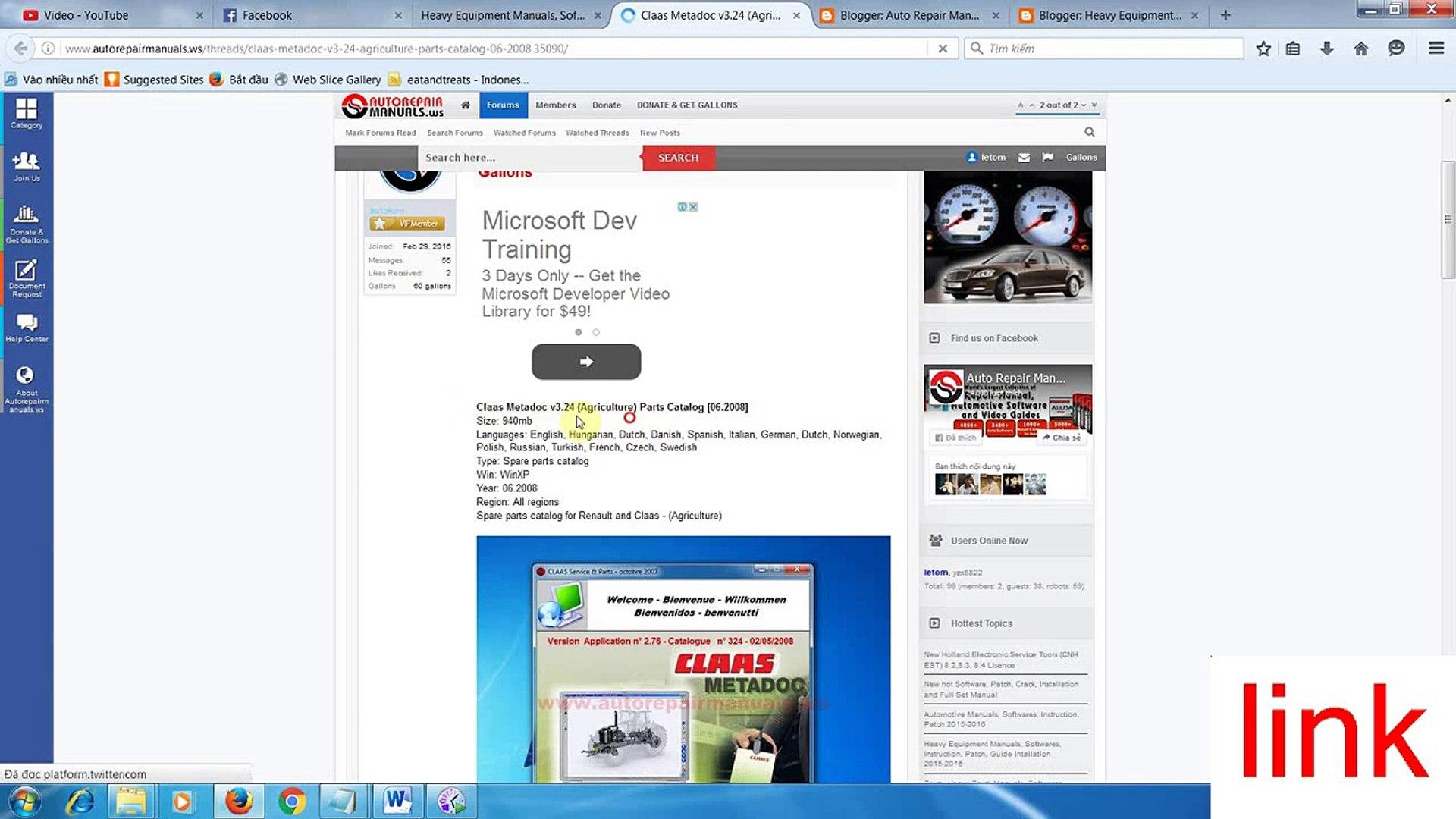 Claas parts online