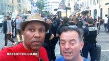 Attaque de supporters de l'OM sur des fans Anglais de Football au vieux Port - Euro