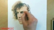 How to Drawing David Luiz With Time Lapse Draw David Luiz With LLH Step by Step