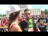 PA KOMENT: Atmosfera në Tiranë gjatë ndeshjes me Zvicrën - Top Channel Albania - News - Lajme