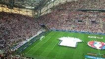 "Angleterre-Russie : l'assourdissant ""God save the Queen"" au Vélodrome"