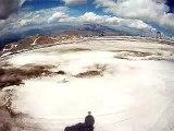 Discesa dal ghiacciaio di fine giornata 2 Alpes