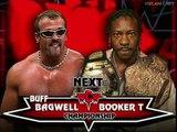 Booker T vs Buff Bagwell, WWF RAW 02.07.2001, WCW World Heavyweight Championship Match