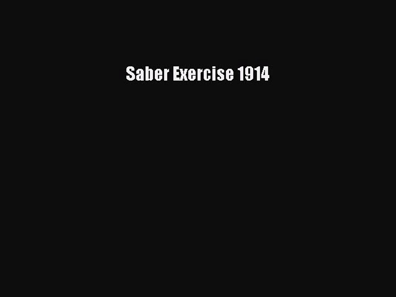 Read Books Saber Exercise 1914 E-Book Free