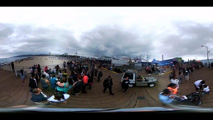 E3 2016 - Santa Monica y playas en 360º | Godialy.com