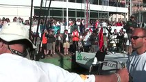 Volvo Ocean Race 2008-2009. Team Russia. Leg 10.
