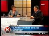 Luis D'Elia en Liliana de Regreso por Canal 26 parte 2/2
