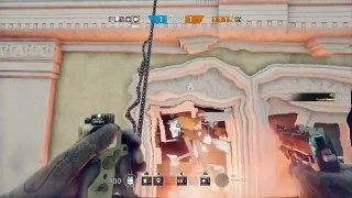 Rainbow Six: Siege Moments #23 [Hilarious invincible/stuck in the floor glitch]