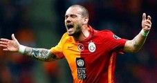 Galatasaray Wesley Sneijder'e 200 Bin Euro'luk Ceza Kesecek