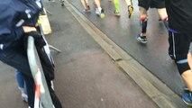 Foulées de la liberté: départ du semi-marathon