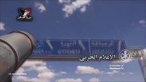 Наступление на Ракку. 57км трассы под контролем САА / 57 km of motorway under the control of the SAA