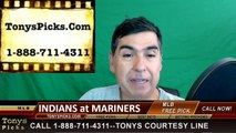 Cleveland Indians vs. Seattle Mariners Pick Prediction MLB Baseball Odds Preview 6-9-2016