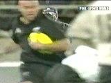 New Zealand All Blacks Rugby Jonah Lomu V Fugi 2002 Fends Of