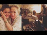 Alia Bhatt's Eyes Fill With Tears On Getting The Best Birthday Surprise By Her Grandparents !