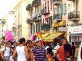 gays et lesbiennes Pink parade de nice 7 juillet 2007