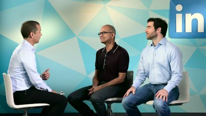 Satya Nadella and Jeff Weiner on Microsoft acquiring LinkedIn