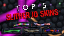 Top 5 Slither.io Skins - Best Slither.io Skins - Coolest Slither.io Skins - by Gradezone