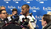 Andre Iguodala on Draymond Green Suspension  Cavaliers vs Warriors - Game 5 Preview  NBA Finals