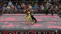 WWE 2K16 indo florez v dark phoenix