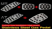 9 Moon Stainless Steel Manual Automatic Clutch Throttle Brakes Foot pedal F