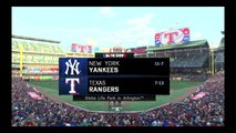 MLB The Show 16 - New York Yankees Franchise Games 19-21 VS Texas Rangers(#7)