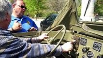 Vintage WW2 Amphibious Car Rides Through Brooklyn